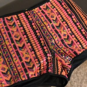 Forever 21 Shorts - F21 sequin shorts